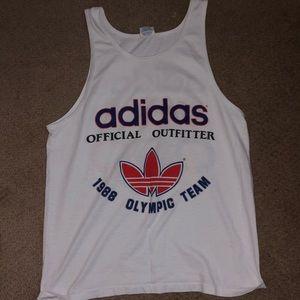 Adidas vintage Olympic tee